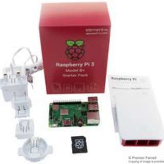 Pre-Order Starter Kit for Raspberry Pi 3 Model B+, Official Case and PSU Included