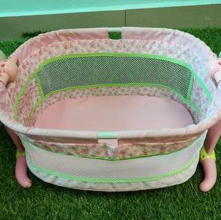 Fisher Price doll crib