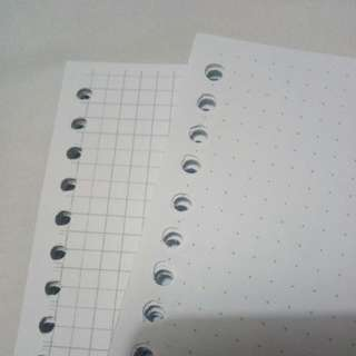 Loose Leaf Isi Binder Dot & Grid 50 sheets