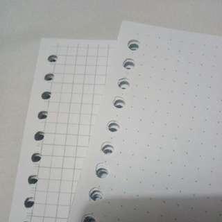 Loose Leaf Isi Binder Dot & Grid 50 sheets