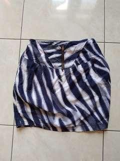 Perique blue skirt