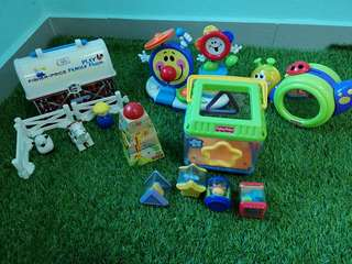 Fisher Price toys bundle