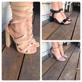 3 pairs of heels for $50!!!