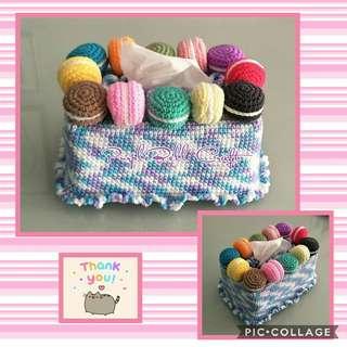Handmade Tissue box cover