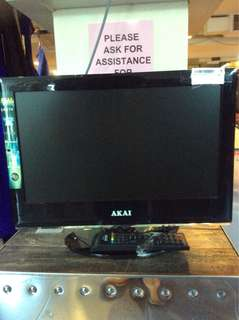 "(UBT) AKAI 19""LED TV & Pc"