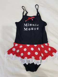 Baju renang minnie mouse