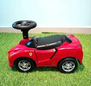 Ferrari manual ride on