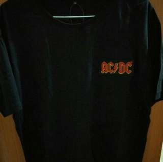 Kaos band patch AC/DC