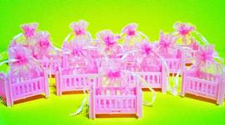 Crib Pouch Christening Give Aways