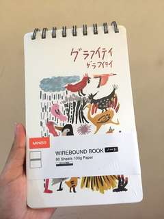 Miniso Wirebound Book