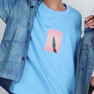 """""""Kaktus"""" Korean Oversized Shirt"""