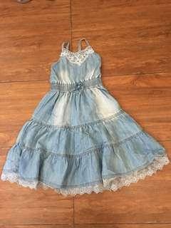 F&X Soft Denim Dress