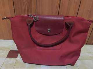 Authentic Longchamp small (with small flaw)