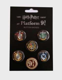 Harry Potter Button Badge