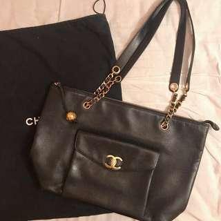 👜Vintage Chanel 超大容量 Shoulder Bag