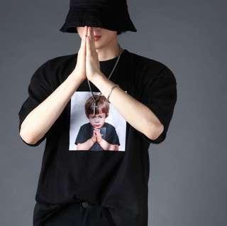 """""""Praybaby"""" Korean Oversized Shirt"""