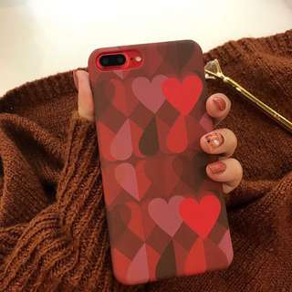 🌼C-1274 Heart Soft Case for iPhone🌼