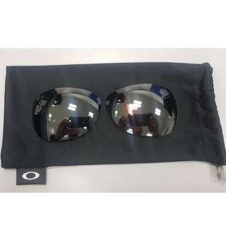 Authentic OAKLEY Titanium Crosshair Reaplacement Lens - OEM Black Iridium Polarized