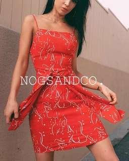 NC1005 Summer Bohemian Belted Dress