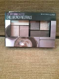 Maybelline Chill Brunch Neutrals mini pallete