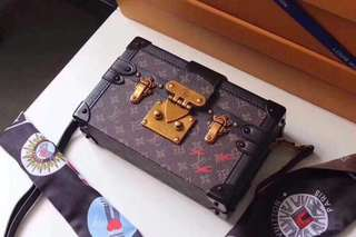 LV Monogram Malle Trunk Crossbody Bag