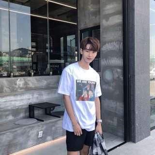 """Young"" Korean Oversized Shirt"