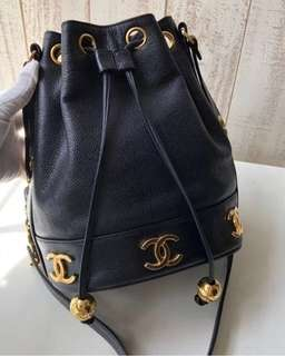 Chanel Vintage Bucket Bag 中古水桶袋