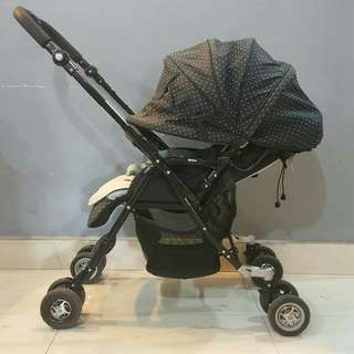 Luxury Aprica Baby Stroller seat