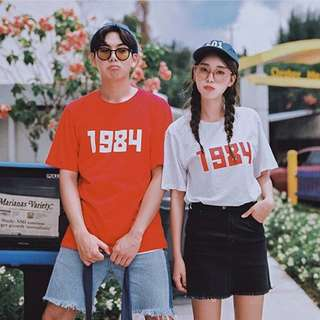"""1984"" Korean Oversized Shirt"
