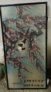 Chinese painting bird arts vintage