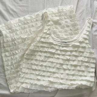 F21 Ruffle Dress