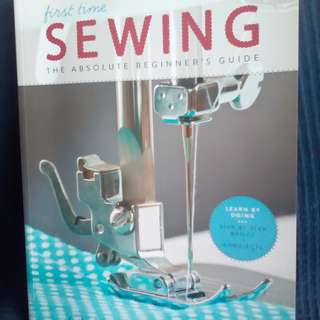 SEWING The Absolute Beginner's Guide