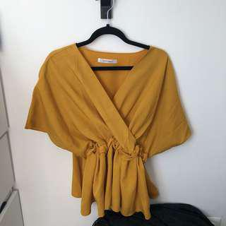 Yellow Top • fit to M - XL