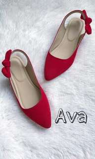 Red doll shoes