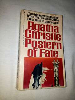 Agatha Christie- Postern of Fate