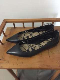 Michael kors black tabby lace