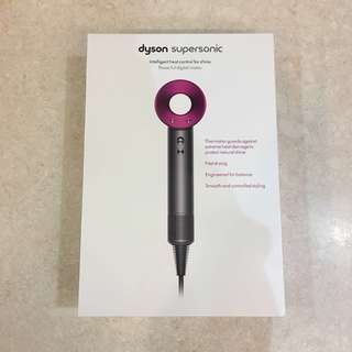 Dyson Supersonic Hair Dryer with Local Warranty