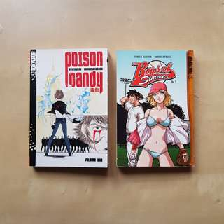 Tokyopop Bundle: Boys of Summer Vol 1 + Poison Candy Vol 1