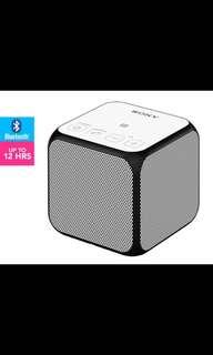 Sony ultra portable Wireless Bluetooth Speaker- white