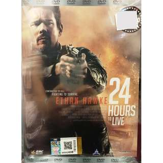 24 Hours To Live Movie Ethan Hawke DVD