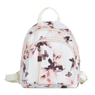 Floral casual backpack