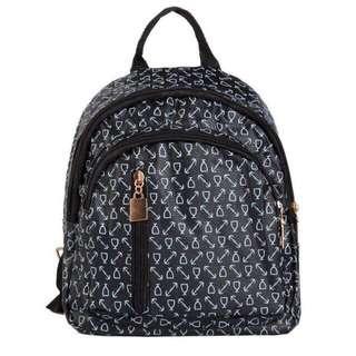 Arrow printed backpack
