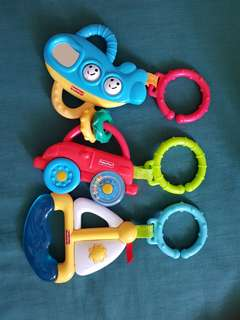 Fisher Price Teether Set