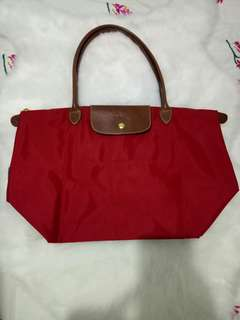 Original Longchamp LLH (deep red)
