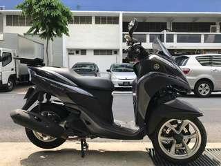 Yamaha Tricity 125 3 wheels