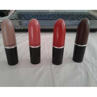 Mac lipstick at $20 each (Authentic)
