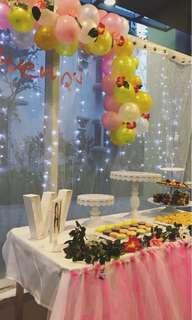 Birthday balloon arch design service