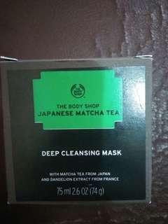 The body shop Japanese matcha tea deep cleansing mask