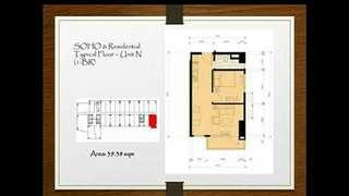1 bedroom / 34sqm / 8 adriatico