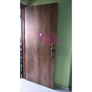 Laminate Main Entrance (Oak Forest)